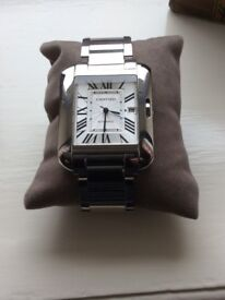 Cartier tank anglaise xl brand new