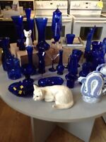 Cobalt blue glass Fonthill Restore St. Catharines Ontario Preview