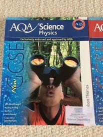 Aqa gcse textbooks, physics, biology and chemistry