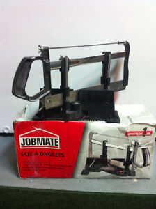 "Manual Mitre Saw / Scie a onglets ""JOBMATE"""