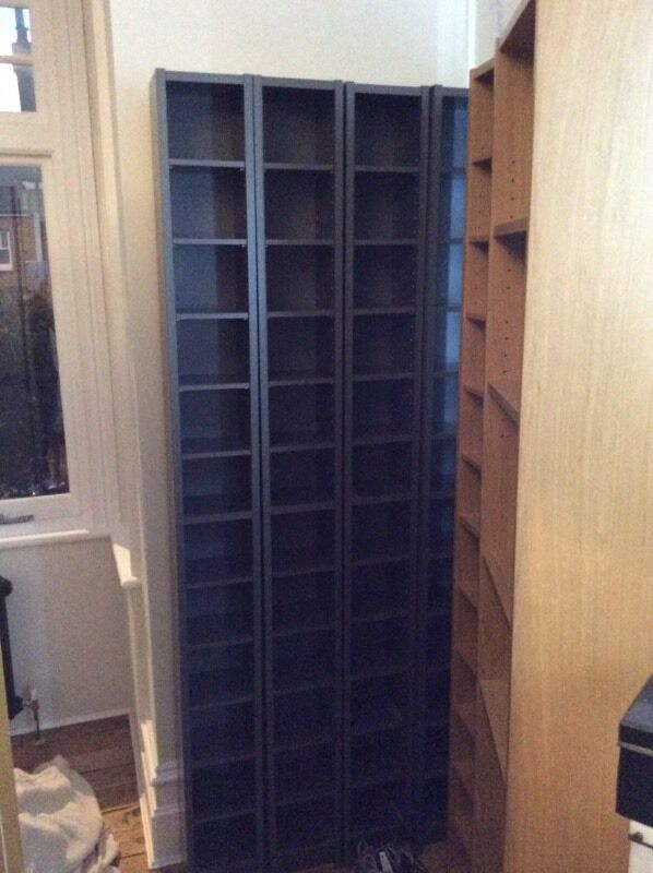 Esstisch Ikea Bjursta Schwarzbraun ~ ikea cd regal gnedby  IKEA GNEDBY CD DVD shelving United Kingdom