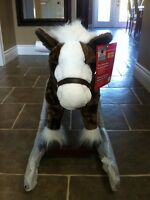 New animated rocking horse holds up to 132lbs