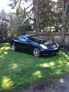 Infinity g35 coupe blk on blk