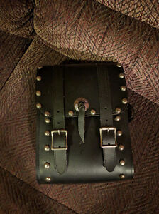 Leather sissy bar bag Peterborough Peterborough Area image 1