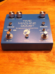 Keeley Time Machine Boost - Clean boost & Treble booster