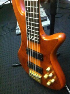Schecter 5 string bass Bellbird Heights Cessnock Area Preview