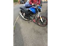 Lexmoto 125cc Motorbike