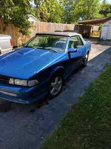 1989 chevy Z24 convertible
