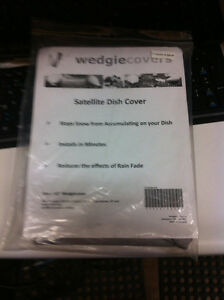 "WedgieCovers Satellite Dish Cover 18"" for Bell with single LNB"