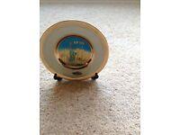 Beautiful New York Art of Chokin Plate