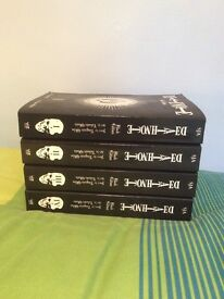 Death note black edition manga volumes 1-8