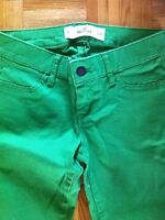 Hollister stretch skinny jeans 24 or 0