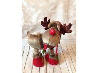 Kingfisher Christmas plush reindeer 65cm