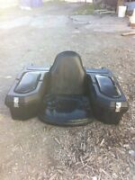 2 bancs pour 4 roues