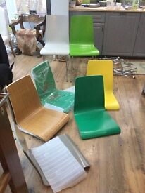 John Lewis jasper chairs was £45 each x8 all different colours