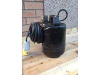 Tsurumi 110v submersible water pump