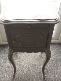 Shabby chic pot cupboard/side table/hall table