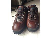 SKETCHERS. Walking Boots. Size 10.