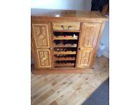 M&S wine cabinet