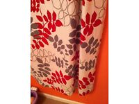 Lovely curtains 66x72 inches ring top