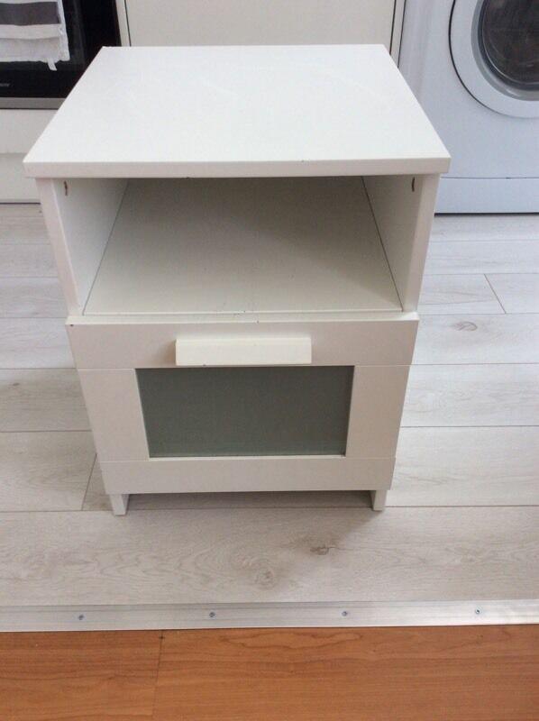 IKEA Brimnes Bedside Table In West Hampstead London Gumtree - Brimnes ikea bedside table