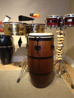 Percussion and Drum Set Lesson for Cajon, Djembe, Congas,Timbal