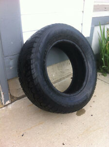 2 used Winter tires - 215/65 R15 - $40 each or $70 for both.