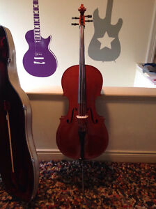 Professional grade cello in excellent condition