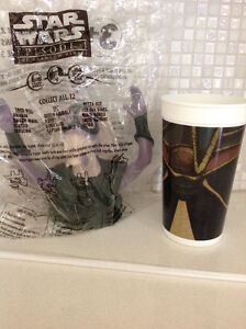 Star Wars Episode 1 Cups and Toppers Taco Bell KFC Pizza Hut