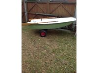Small boat dinghy