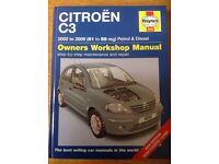 Haynes Workshop Manual Citroen