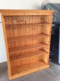 Bookcase, pine