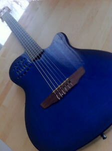 Godin Blue Synth and Roland GR55 Synth! Awesome Pair!!!