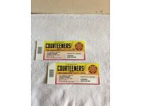 2 X tickets for the courteeners at Emirates old Trafford Manchester 27th of May