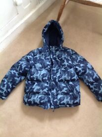 Boys Marks and spencer puffer jacket age 11 to 12