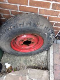 Land Rover series 2 /3 tyre and rim FREE