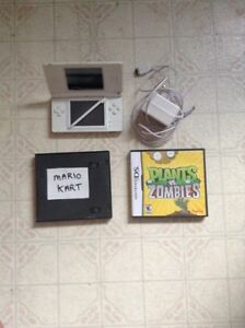 Nintendo DS Lite W/ 2 Games & Charger