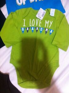 Baby boys children's place brand new with tags onesie/shirt lot Windsor Region Ontario image 2