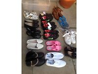 Job lot of footwear , size 5/6 and 8 .