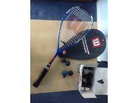 Wilson Titanium Power Squash Racket