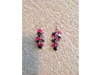 Pair of dangly earrings