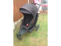 Phil & Teds Explorer Double Buggy with Cocoon £90 ONO