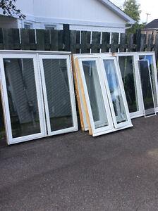8 fenêtres à manivelle à vendre