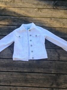 White jean jacket Kawartha Lakes Peterborough Area image 1