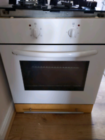 BUILT IN ELECTRIC OVEN AND GAS HOB (ELECTROLUX)