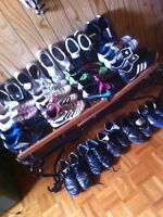 Many soccer shoes cleats indoor outdoor 5$