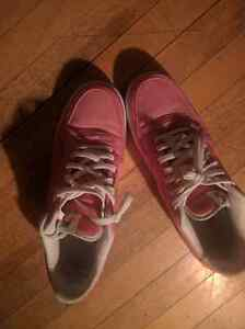 Selling light red/pink nike airs men's size 10.5