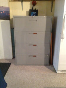 filing cabinet - 4 drawer
