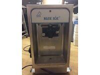 Blue ice Ice cream machine