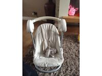 Mothercare baby swing with music and speed setting